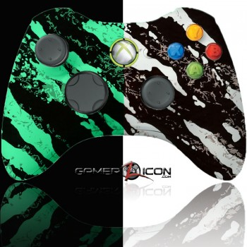 Xbox 360 Modded Controller Glow In The Dark