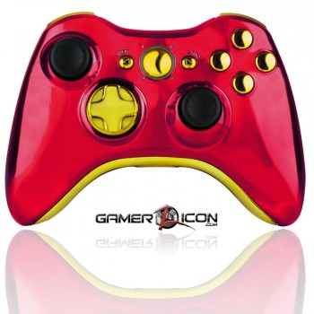 Xbox 360 Modded Controller Iron Man