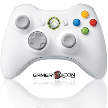 Xbox 360 Modded Controller Special Edition White