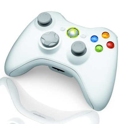 Xbox 360 Rapid Fire Special Edition White