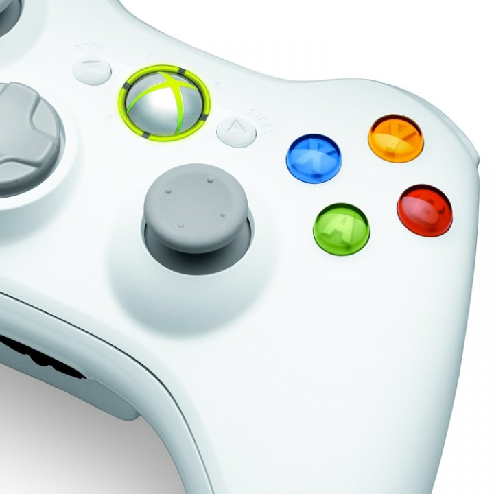 Xbox 360 Speical Edition White Modded Controller