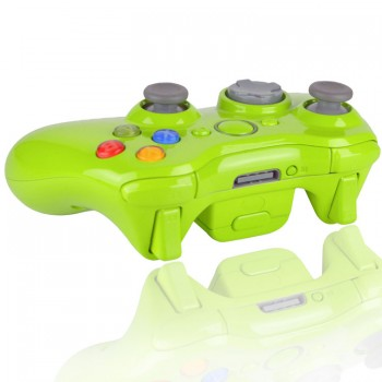 Xbpx 360 Glossy Apple Green Modded Controller