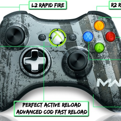 xbox 360 10 mode modded controller MW3