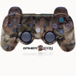 PS3 Modded Controller Tan Leaf Camo