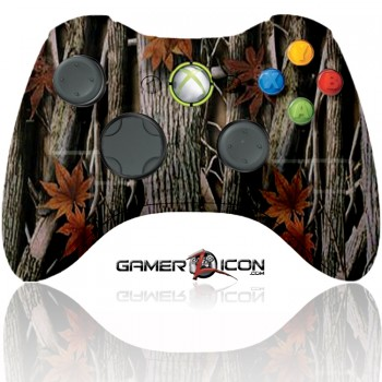 Xbox 360 Modded Controller Woods Camo