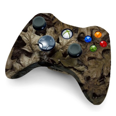 Xbox 360 Rapid Fire Controller Brown Leaf Camo