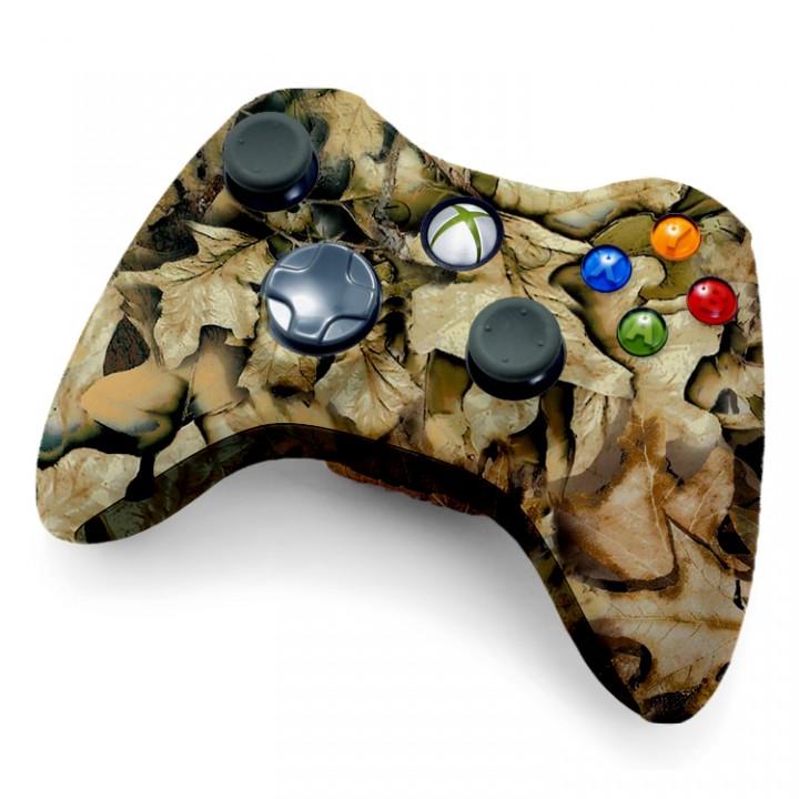 Xbox 360 Rapid Fire Controller Spring Leaf Camo