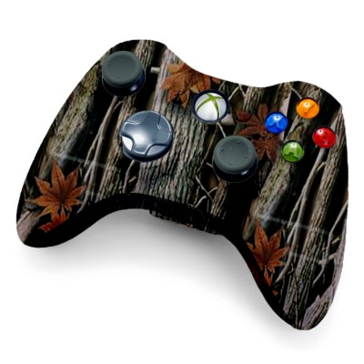 Xbox 360 Rapid Fire Controller Woods Camo