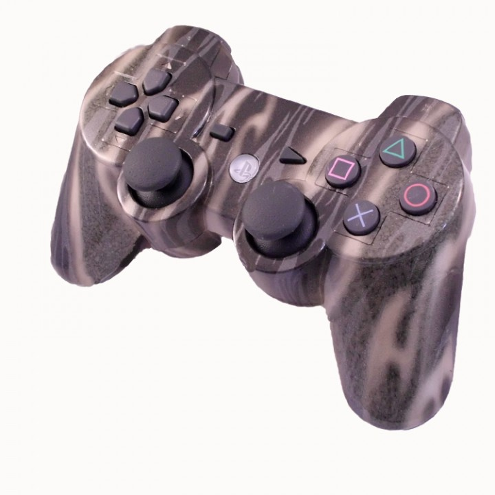 PS3 Gold Flames Rapid FIre Controller