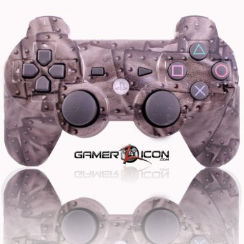 PS3 Modded Controller Rivet Steel