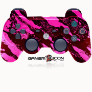 PS3 Savage Pink