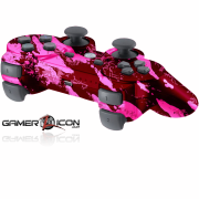 PS3 Savage Pink Modded Controller
