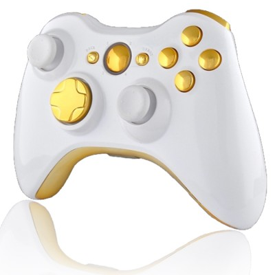 Xbox 360 Rapid Fire Controller White & Gold