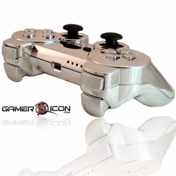 PS3 Chrome Rapid Fire Controller