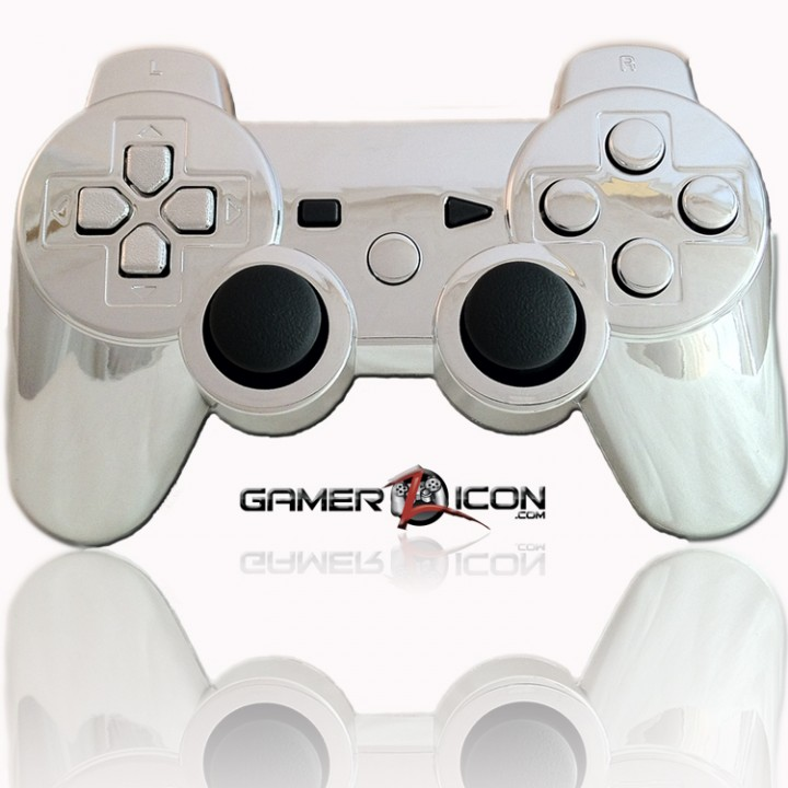 PS3 Modded Controller Chrome