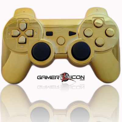PS3 Modded Controller Gold