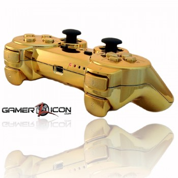 PS3 Rapid Fire Gold Controller