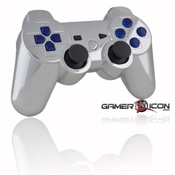 Chrome With Blue Inserts Website