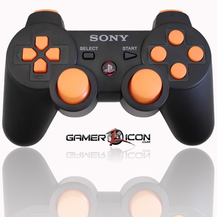 PS3 Black Ops 2 Black Modded Controllers
