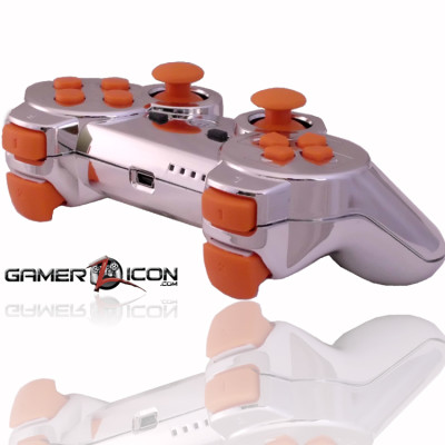 PS3 Black Ops 2 Chrome Rapid Fire Controller