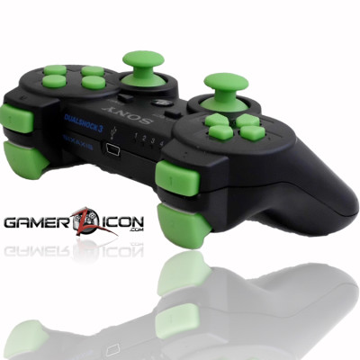 PS3 Charcoal Black MW3 Rapid Fire Controller