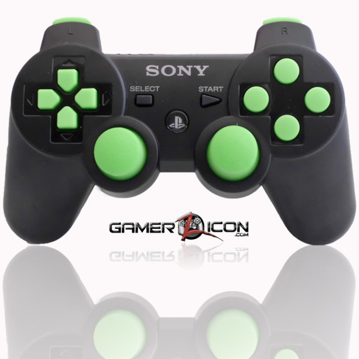 PS3 Modded Controller Charcoal Black MW3