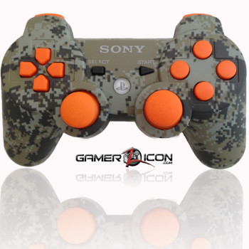 PS3 Modded Controller Urban Camo Black Ops 2