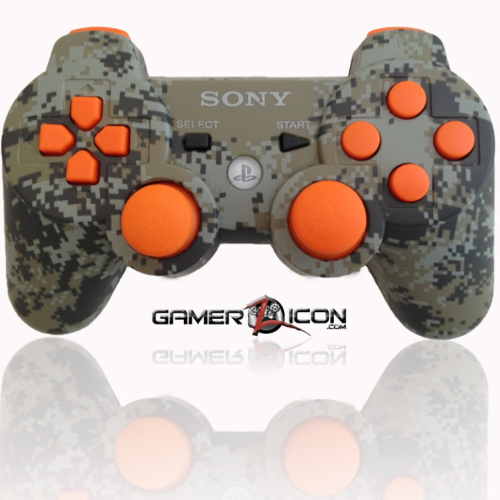 PS3 Modded Controller Urban Camo Black Ops 2