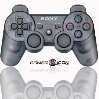 PS3 Slate Grey Modded Controller