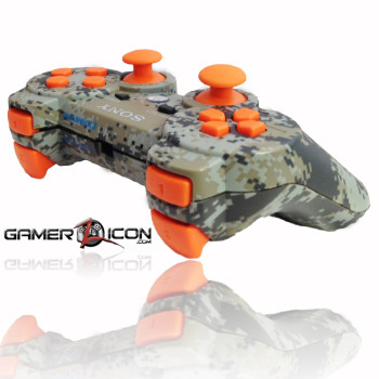 PS3 Urban Camo Black Ops 2 Rapid Fire Controller