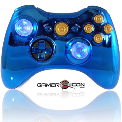 Xbox 360 Chrome Blue Bullet Edition