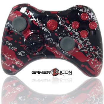 Xbox 360 Savage Red Bullet Edition