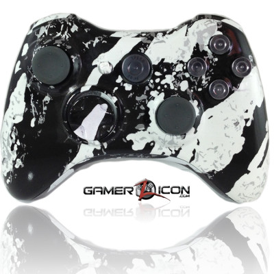 Xbox 360 Savage White Nickle Bullet Edition