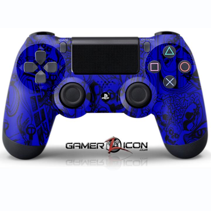 Koonky Skullz Blue Controller