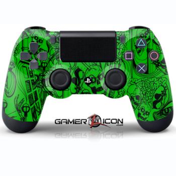 Koonky Skullz Green Controller
