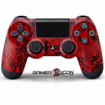 Koonky Skullz Red Controller
