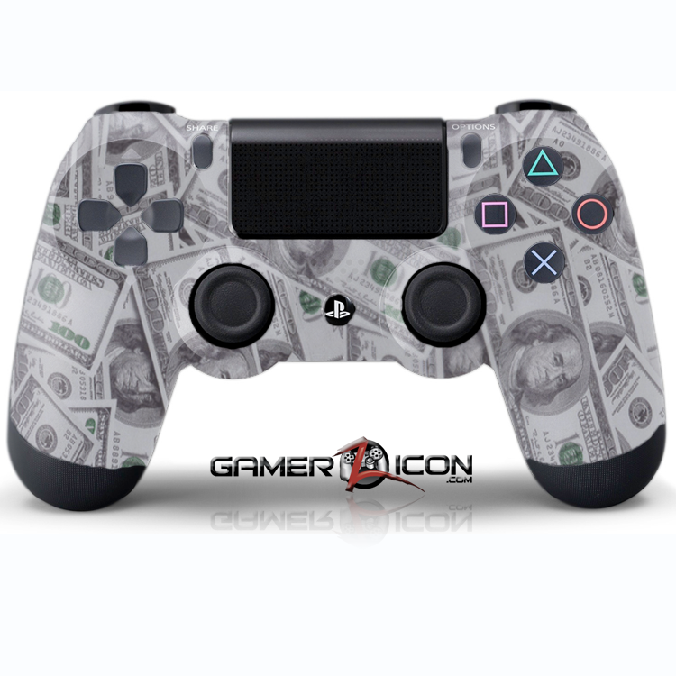 PS4 100 Dollar Bling Controller