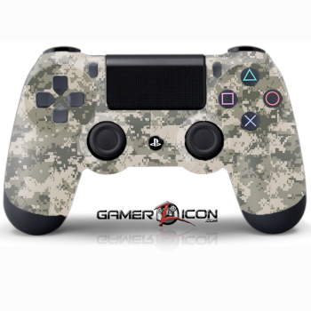 PS4 Army Digital Camo Controller