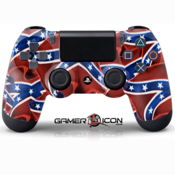PS4 Confederate Flag Controller
