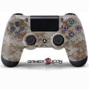 PS4 Desert Digital Camo