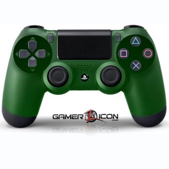 PS4 Green Carbon Fiber Controller