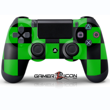 PS4 Green Checker Controller