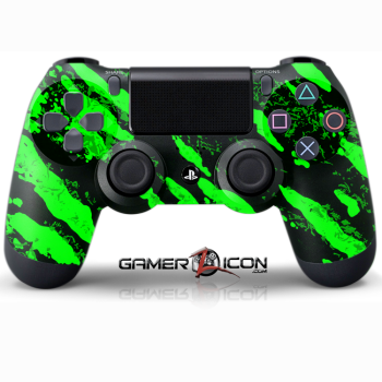 PS4 Savage Green Controller
