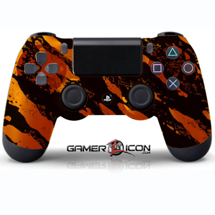 PS4 Savage Orange Controller