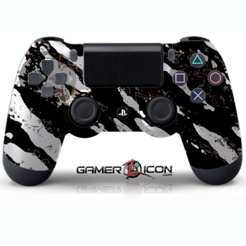 PS4 Savage Silver Controller
