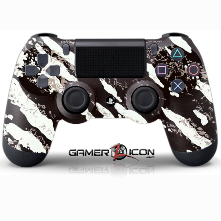 PS4 Savage White Controller