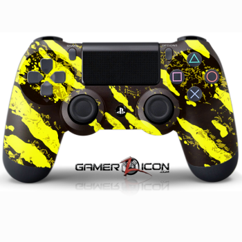 PS4 Savage Yellow Controller