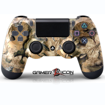 PS4 Tan Leaf Controller