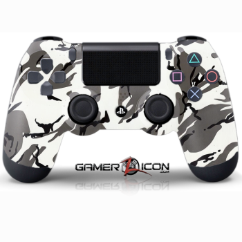 PS4 Winter Camo Controller
