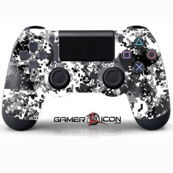PS4 Winter Digital Camo Controller